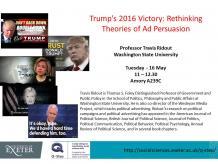 Trump's Victory 2016, Travis Ridout,