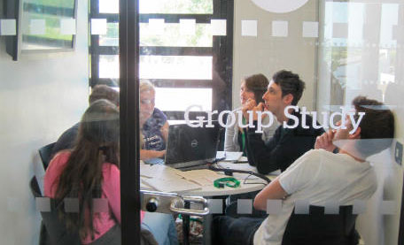 STAR students participating in a group study session