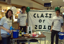 Class of 2010 fundraising.