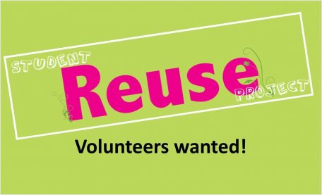 Re-Use volunteers needed