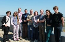 Tony Juniper at the ESI with staff and students