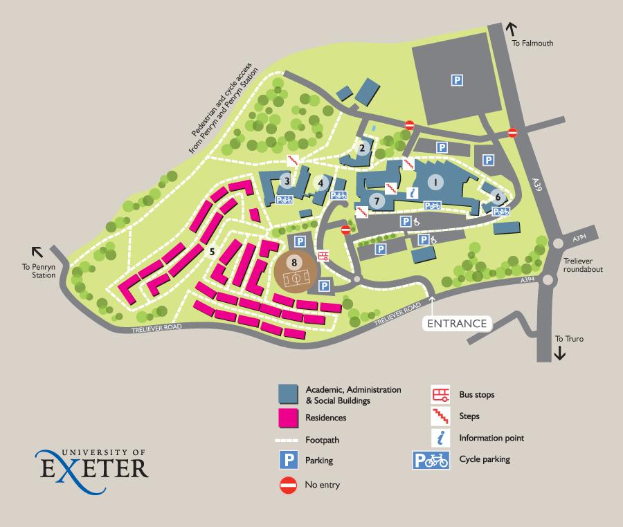 penryn campus map