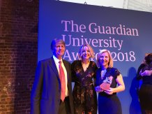 Guardian Award Tamara Galloway right hand