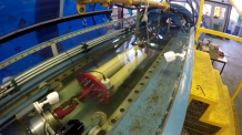 Intelligent Mooring System undergoing demonstration tests at the University of Exeter Dynamic Marine Component Test Facility