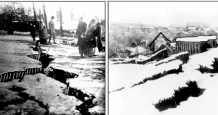 Ground failure effects documented after the 3 January 1911 Kemin earthquake (modified from Nurmagambetov et al., 1999)