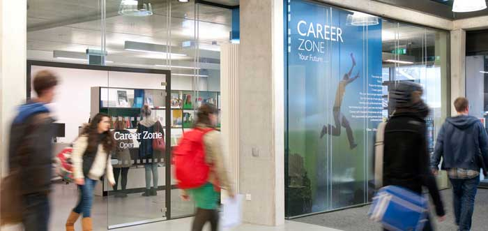 Careerzone on Penryn Campus