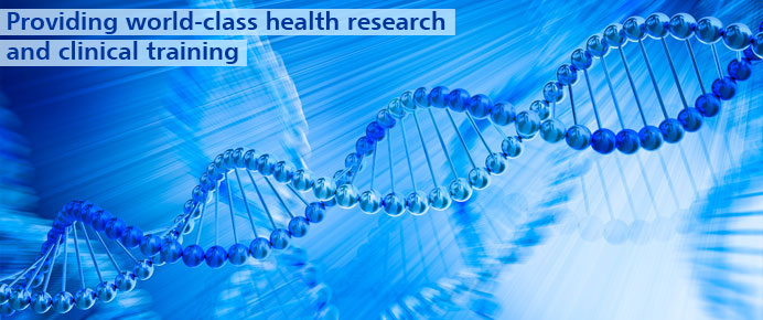Providing world-class health research and clinical training