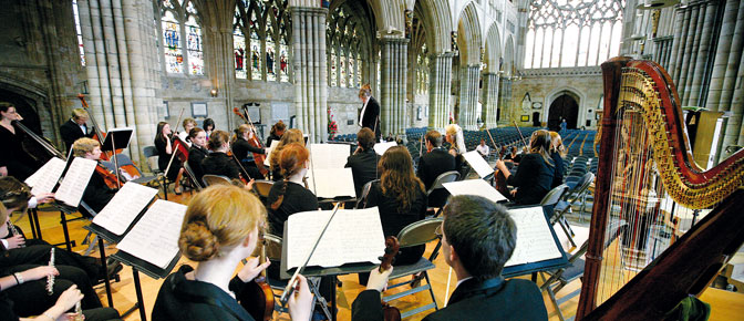 Music in Exeter Cathedral