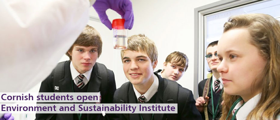 Find out more about the Environment and Sustainability Institute opening