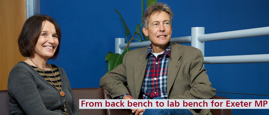 Find out more about Ben Bradshaw's visit to the Medical School