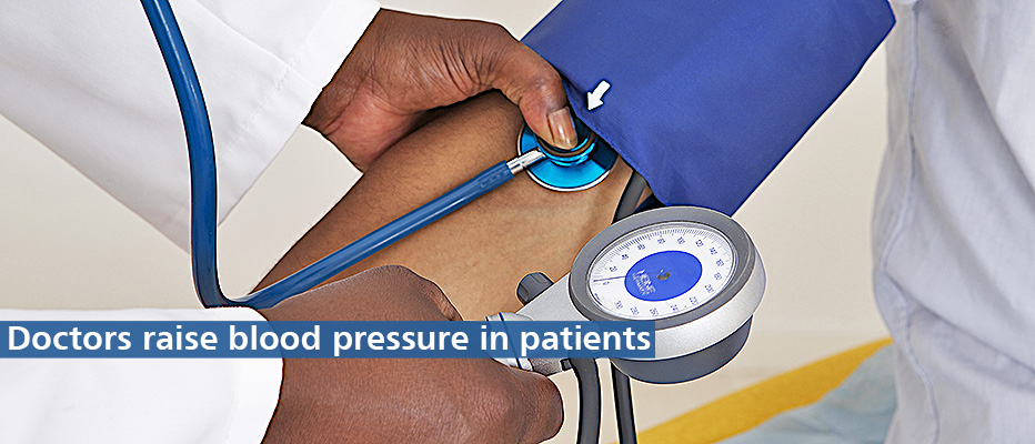 Find out more about the effect of doctors on blood pressure