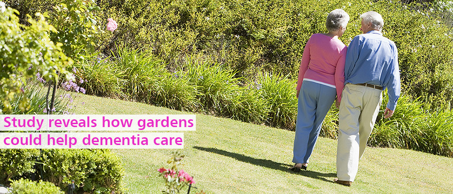 Find out more about how gardens could help dementia patients