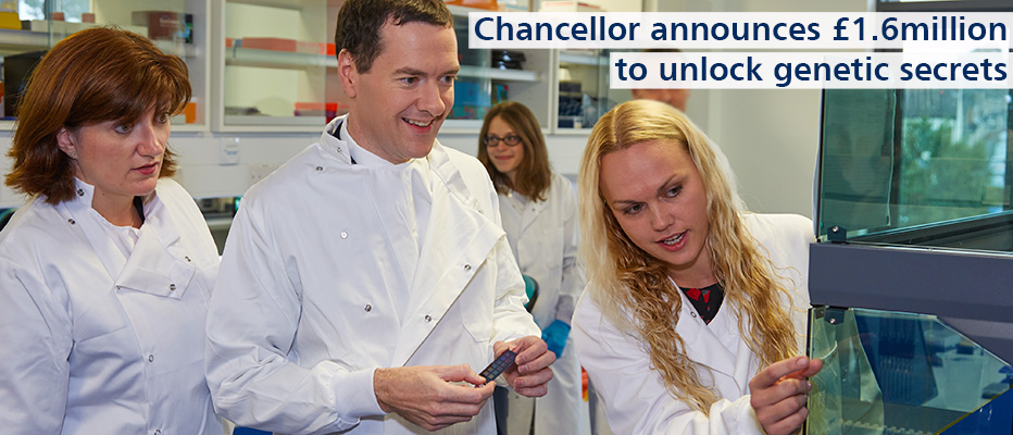 Find out more about George Osborne's visit