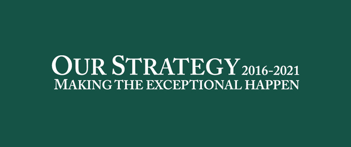 Corporate strategy 2016-2021 launches
