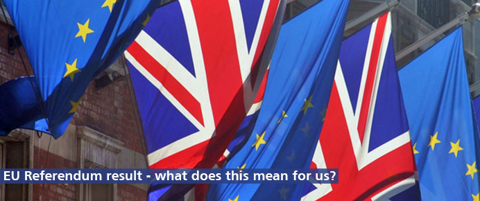 Find out the latest on the EU referendum result