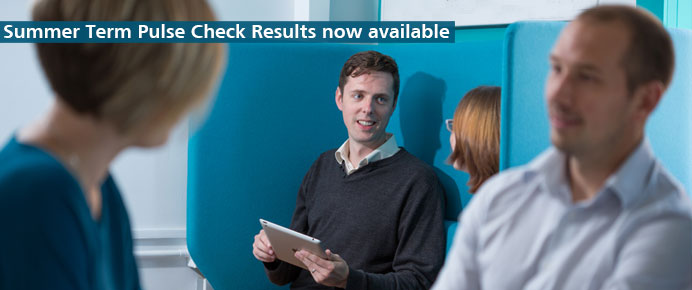 Find out the latest Pulse Check results