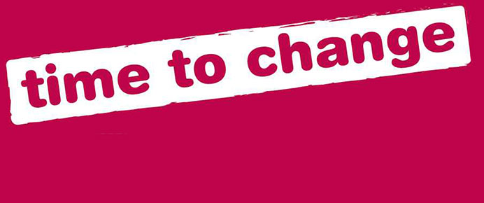 We signed the Time to Change pledge to help stop mental health discrimination