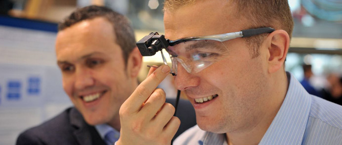 Eye tracking - University of Exeter consultancy services