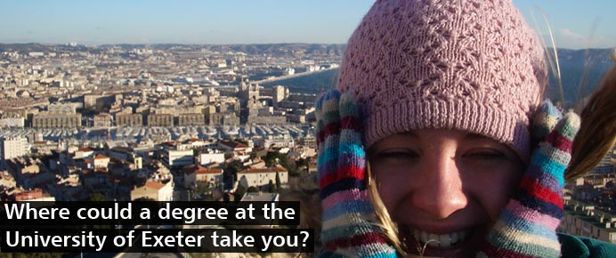 Opportunities Abroad - Where could a degree at Exeter take you?