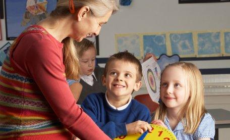 Teacher classroom splash