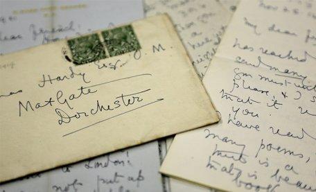 Dorset Museum's Thomas Hardy Archive, courtesy of Dorset Museum 2019