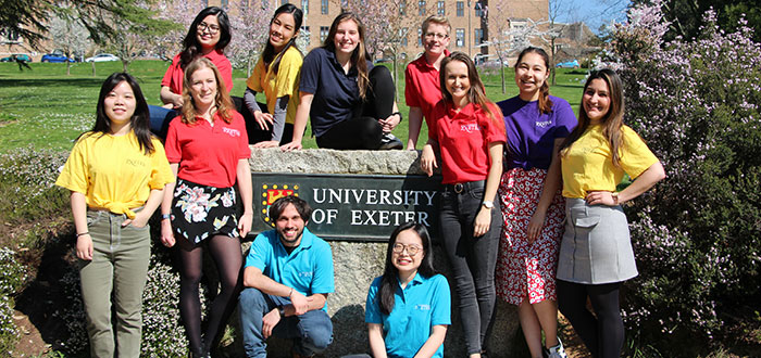 Chat online now to current postgraduate students to find out what life at Exeter is really like
