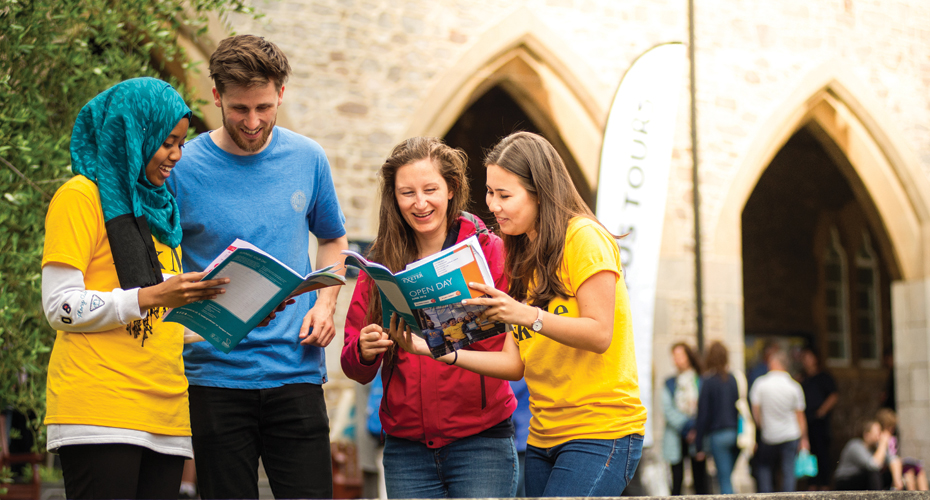 Open Days and visiting  Undergraduate Study  University of Exeter