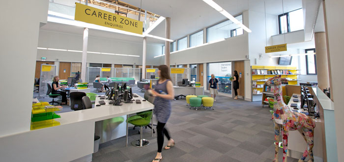 The Careerzone in the Forum.