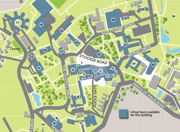 Streatham Campus Exeter University Of Exeter